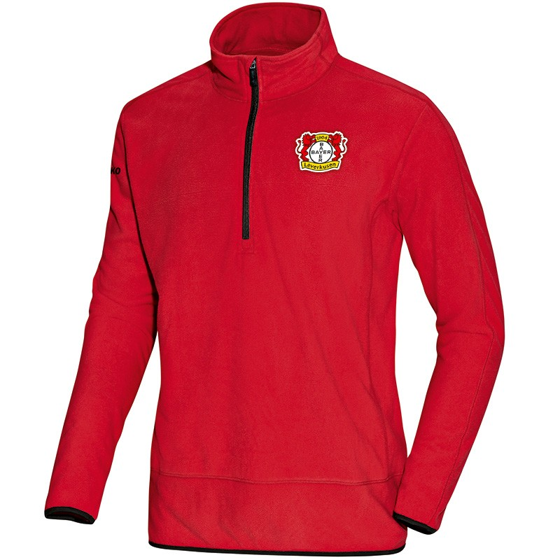 Jako Bayer 04 Leverkusen Fleece Ziptop Team - rot