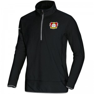Jako Bayer 04 Leverkusen Fleece Ziptop Team - schwarz