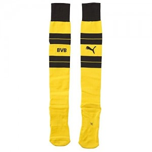 Puma Bvb Hooped Socks - cyber yellow-black