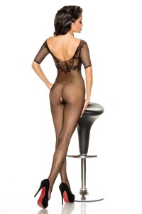 Atixo Bodystocking - schwarz