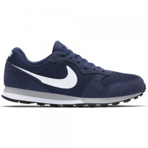 Nike Nike Md Runner 2 - midnight navy/white-wolf grey – Bild 1