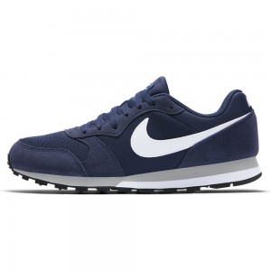 Nike Nike Md Runner 2 - midnight navy/white-wolf grey – Bild 2