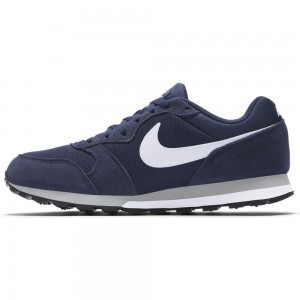 Nike Nike Md Runner 2 - midnight navy/white-wolf grey – Bild 3