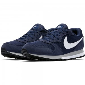 Nike Nike Md Runner 2 - midnight navy/white-wolf grey – Bild 5