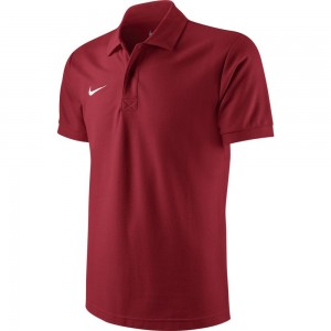 Nike Ts Core Polo - university red/white – Bild 1