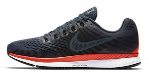 Nike Nike Air Zoom Pegasus 34 - blue fox/black-bright crimson-